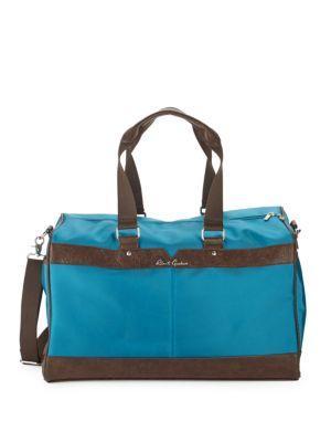 Robert Graham Two-tone Duffel Bag In Teal