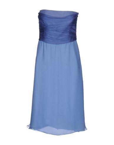 Armani Collezioni Knee-length Dresses In Pastel Blue