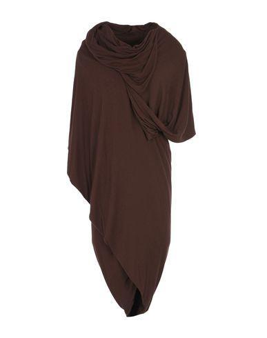 Rick Owens Knee-length Dresses In Dark Brown