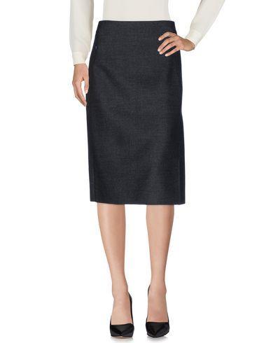 Akris 3/4 Length Skirts In Steel Grey