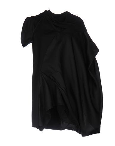 Rick Owens Short Dress In Black