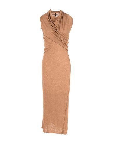 Rick Owens Knit Dress In Camel