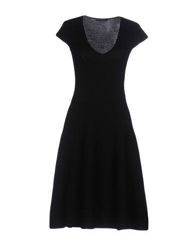 Donna Karan Short Dress In Black