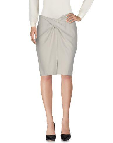 Armani Collezioni Knee Length Skirts In Light Grey