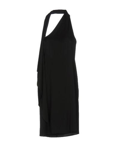 Armani Collezioni Short Dress In Black