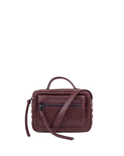 Kooba Liv Mini Leather Camera Bag In Red Pattern