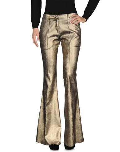 Nude Casual Pants In Gold