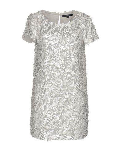 French Connection Short Dress In Light Grey