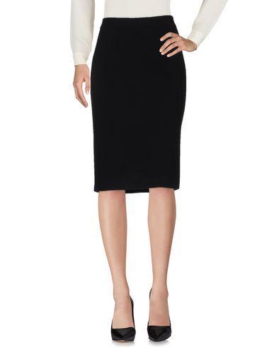 Armani Collezioni Midi Skirts In Black