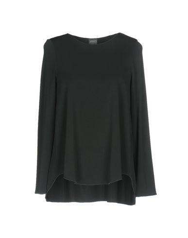 Armani Collezioni T-shirts In Steel Grey