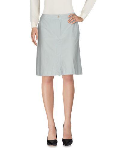 Piazza Sempione Knee Length Skirt In Sky Blue
