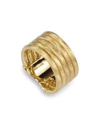 Marco Bicego Jaipur Link Five Row Ring In Gold