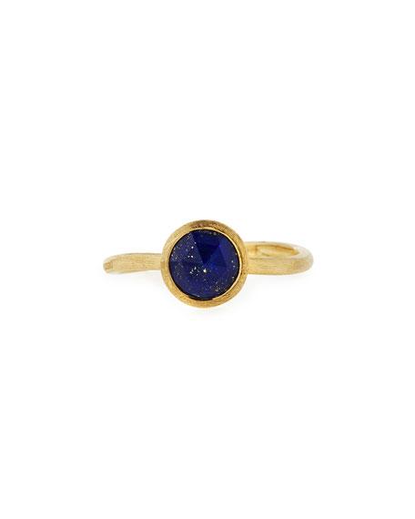 Marco Bicego Jaipur Lapis Ring In 18K Yellow Gold In Blue/Gold
