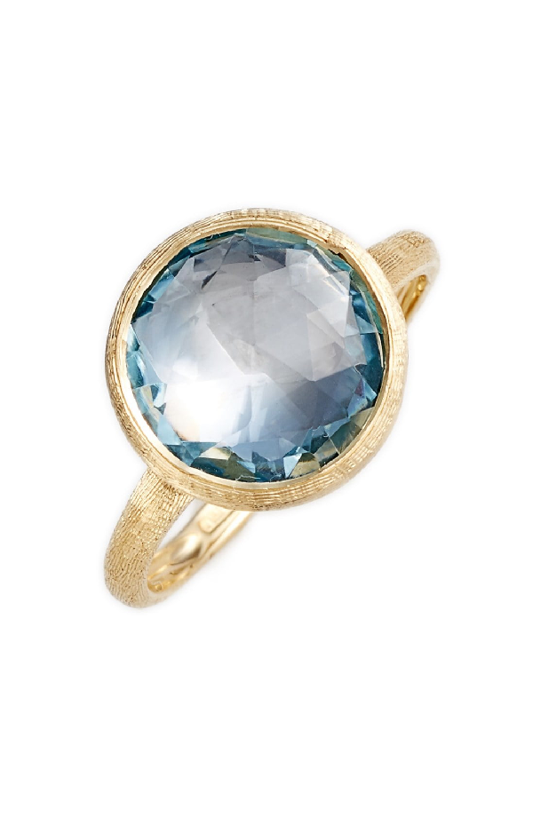 Marco Bicego 18K Yellow Gold Jaipur Ring With Blue Topaz In Yellow Gold/ Blue Topaz