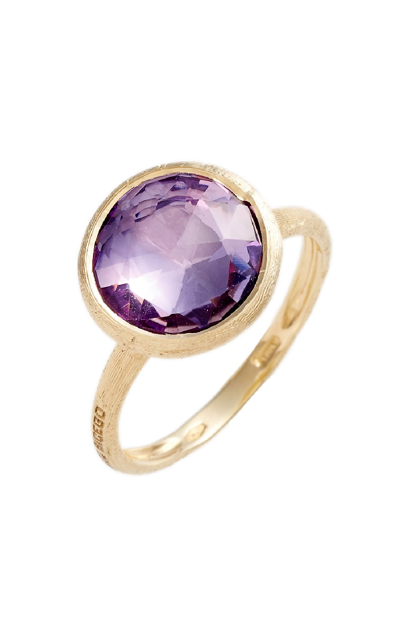 Marco Bicego 18K Yellow Gold Jaipur Ring With Amethyst In Yellow Gold/ Amethyst