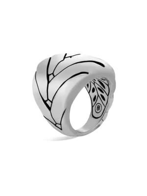 John Hardy Modern Chain Sterling Silver Large Ring