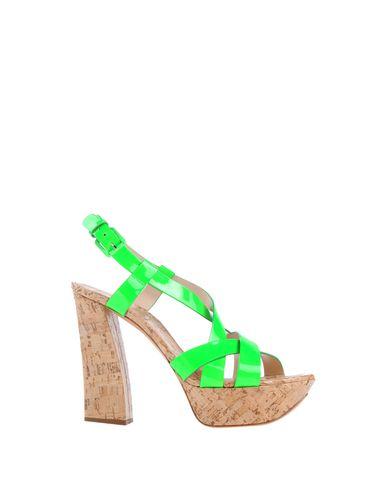 Casadei Sandals In Light Green