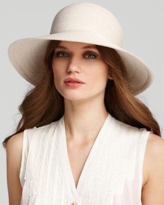 0688cc0b Eric Javits Packable Squishee Iv Short Brim Sun Hat In Cream | ModeSens