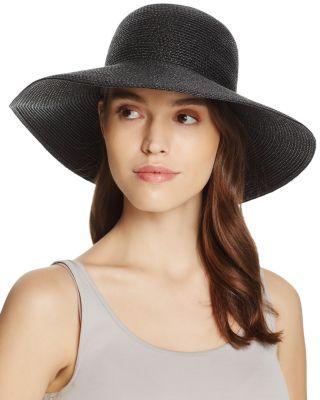 3baa36c682 Eric Javits  Hampton  Straw Sun Hat - Black