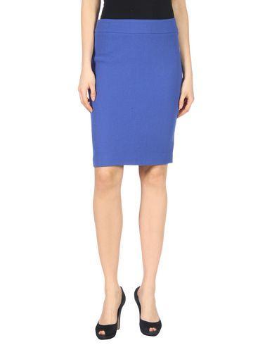 Armani Collezioni Knee Length Skirt In Bright Blue