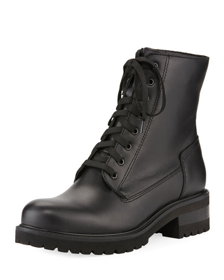 La Canadienne Women's Caterina Waterproof Leather Cold Weather Boots In Black