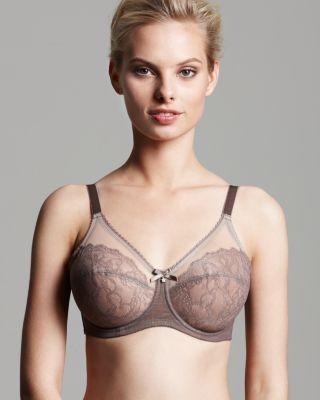 079d3645a8283 Wacoal Retro Chic Full Figure Unlined Underwire Bra In Cappuccino ...