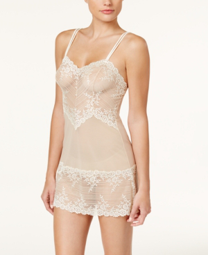 a21ae961189 Wacoal Embrace Lace Chemise 814191 In Naturally Nude  Ivory