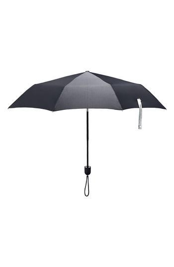 Shedrain Stratus Auto Open Compact Umbrella - Black In Black  Black Matte c0b157f561968