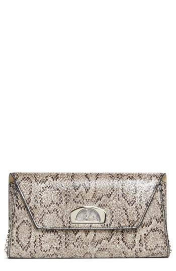 48fe5cc2cd Christian Louboutin Vero Dodat Glitter Clutch - Grey In Roccia ...