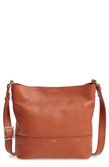 785cf2357 Shinola Small Relaxed Leather Hobo Bag - Brown In Bourbon | ModeSens