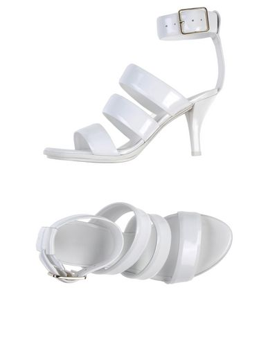 Alexander Wang Sandals In White