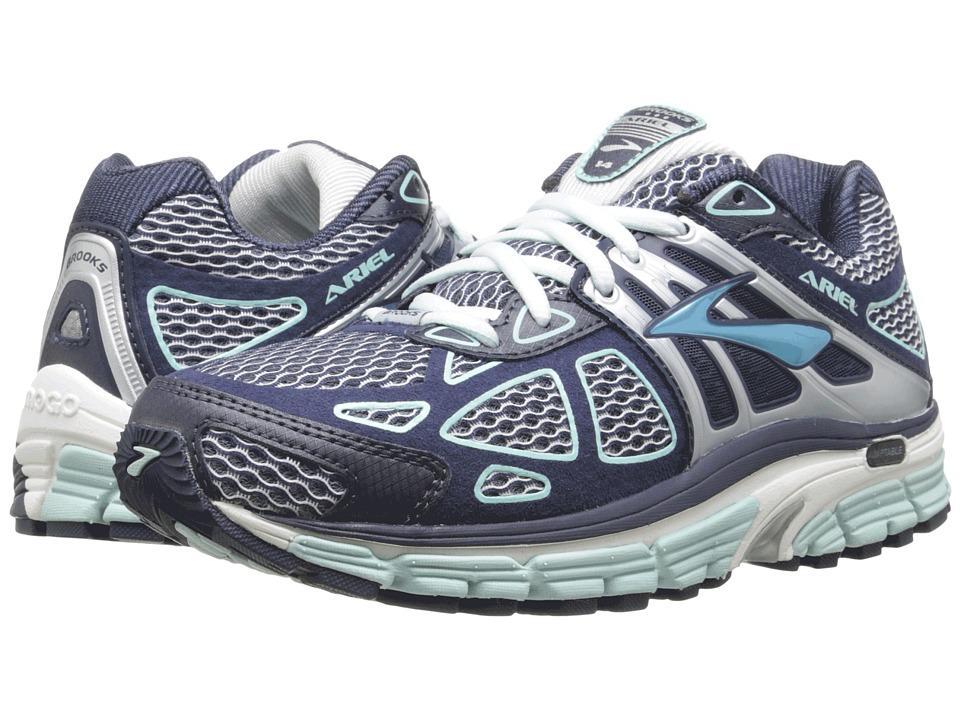 finest selection 0dccc 2e0b0 Brooks - Ariel 14 (Breeze/Midnight/Silver) Women's Running Shoes