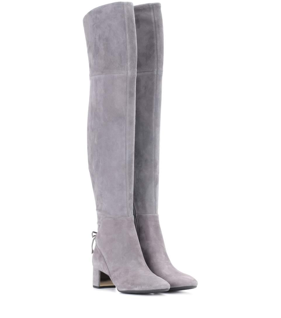e38523759 Tory Burch Laila 45 Suede Over-The-Knee Boots In Carloe
