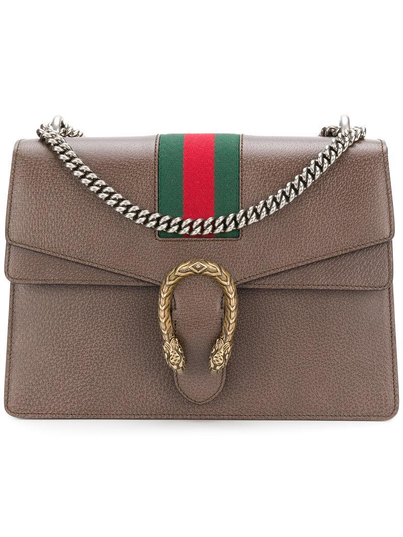 178a9bd9b5b Gucci Dionysus Shoulder Bag In Brown