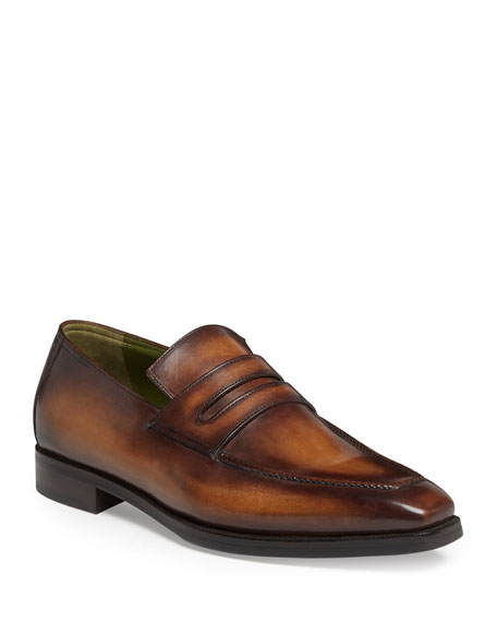 Berluti Andy Leather Loafer, Tobacco