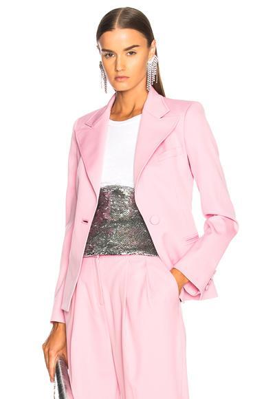 Oscar De La Renta Blazer In Pink