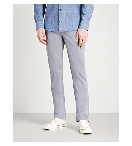 J Brand Kane Straight-Fit Jeans In Draw Bridge