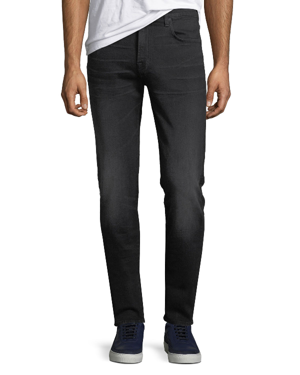 7 For All Mankind Men's Ryley Straight-leg Jeans, Andromeda