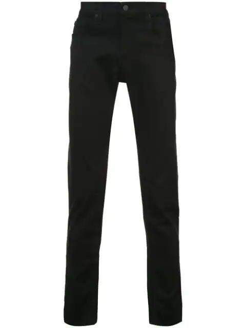 J Brand Men's Kane Straight-Leg Comfort-Stretch Jeans In Black