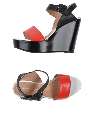 Robert Clergerie Sandals In Red