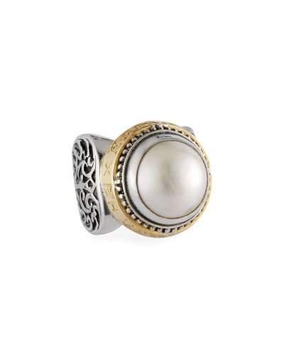 Konstantino Pearl Ring, Large