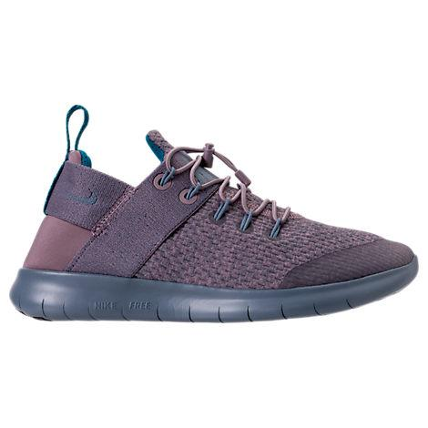0d2a4e385e0be Nike Women s Free Rn Commuter 2017 Premium Running Sneakers From Finish  Line In Taupe Grey