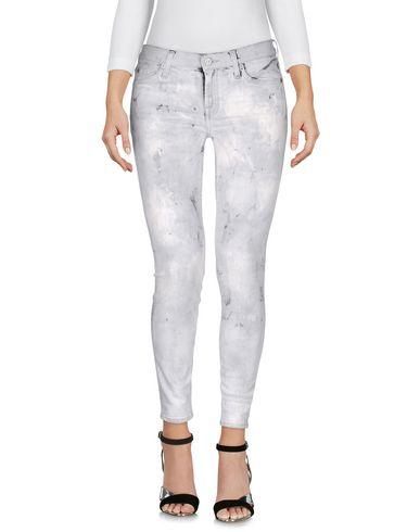 7 For All Mankind Denim Pants In Light Grey