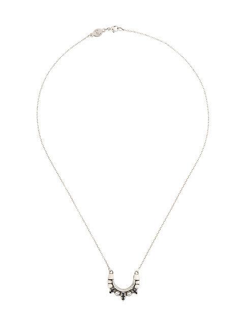 Pamela Love Tribal Spike Necklace In Metallic