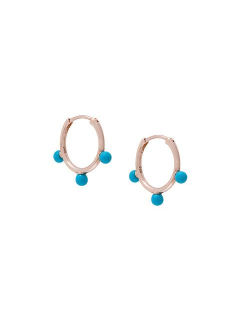 Astley Clarke Hazel Hoop Earrings - Metallic