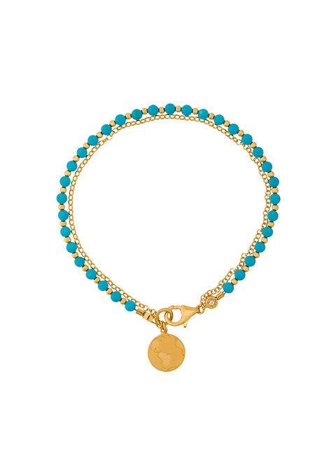 Astley Clarke Earth Biography Bracelet In Blue