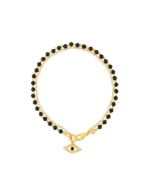 Astley Clarke Evil Eye Biography Bracelet In Yellow Vermeil