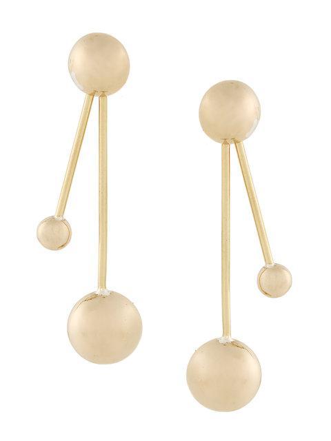 Pamela Love Satellite Earrings In Metallic