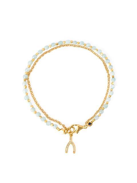 Astley Clarke 'Wishbone Biography' Bracelet - Metallic