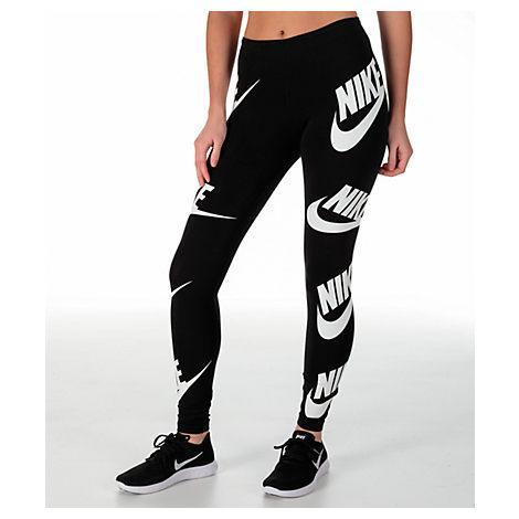 31570477672e2 Nike Women's Sportswear Futura Leg A See Leggings, Black | ModeSens